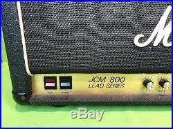 Vintage Marshall JCM 800 Lead Series 2205 50w Guitar Tube Amp Head Works