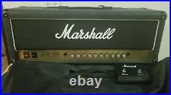 Vintage Marshall JCM 900 4100 100 Watt Tube Guitar Amp Head w Footswitch + Cover