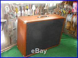 Vintage Masco Amp Amplifier MA-25 2 X 12 Custom Combo Tube Brown