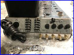 Vintage McIntosh MC240 Stereo Amplifier Working Please Read