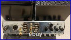 Vintage McIntosh MC-275 Stereo KT88 Tube amp with a cage