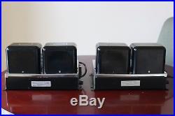Vintage McIntosh MC-60 Mono Block Power Tube Amplifiers Pair 6550 KT88