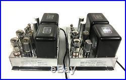 Vintage McIntosh MC-60 Monoblock Vacuum Tube Amplifiers EXCELLENT Pair USA Made