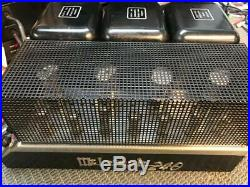 Vintage McIntosh model MC-240 MC240 Stereo HiFi Tube Amplifier Functions