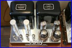 Vintage Mcintosh MC-60 Tube Mono Block Amplifier Stereo Pair MC-30 Family