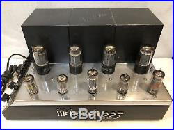 Vintage Mcintosh mc225 Tube Amplifier in Good working condition