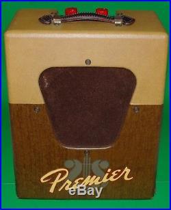 Vintage Multivox Premier 50 Harmonica Tube Amplifier Harp Amp Guitar