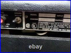 Vintage Music Man 100RD Tube Amp Head 100 Watts with Foot Switch