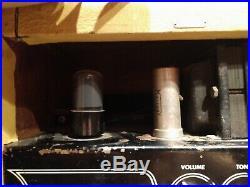 Vintage Oahu tube Amp, 8 MOD speaker, 5 watt. Awesome tone, great studio amp