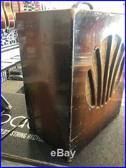 Vintage Old Kraftsman Tube Amplifier Harmonica Harp Guitar Amp AS IS