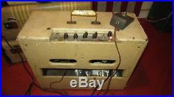 Vintage Original Circa 1961 Gibson GA-8 T Discoverer Tremolo Tube Combo Amp