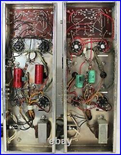 Vintage PAIR Dynakit Mark Mk IV Mono Tube Amps Amplifiers UNTESTED Minus 2 Tubes