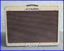Vintage PEAVEY CLASSIC 50 Guitar Tube Amp & Automixer Pedal. Tweed Reverb USA