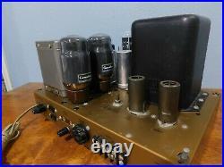 Vintage Pair Of Heathkit W-5M Mono Tube Amplifier Amp with Genalex KT66 Tubes
