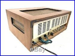 Vintage Panasonic Tube Stereo HiFi Receiver Amplifier EA-802 RARE REBUILT