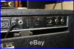 Vintage Peavey Classic VT Series Hybrid Amp 2-12's 50 Watts Tube