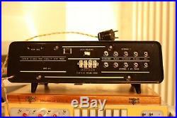 Vintage Philips M. B. L. E. Tube stereo amplifier Very rare model MBLE amp 10 tubes