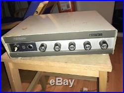 Vintage Philips Stereo Tube Amplifier AG9016