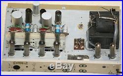 Vintage Philips Stereo tube amplifier AG9014 valve 1958 Hi-Fi power OTL amp 50's
