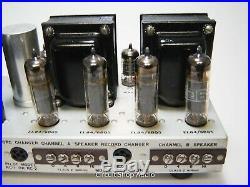 Vintage Pilot 232 Stereo Tube Amplifier / Mullard 6BQ5 EL84 - KT