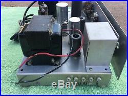 Vintage Pilot Pt-1030d Mono Tube Amplifier 15w Amp Telefunken Ecc83 Great Sounds