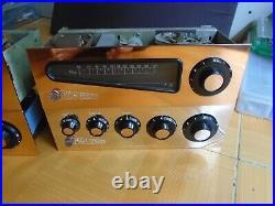 Vintage Pye Valve Tube Single End El34 Amplifier Set Made In England