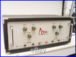 Vintage RARE MAC 4C A56 Tube amp 6 x EL84 Spring Reverb Made in Italy 1970's