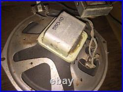 Vintage Rare 1956 Gretsch Electromatic Standard Guitar Tube Amp Parts/Repair