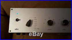 Vintage/Rare(1961)BRAUN Röhrenverstärker CSV-13/1, tube amplifier, missing tubes
