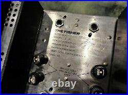 Vintage Rare The Fisher A-690 Model 59-A 59-T MPX-125 Tube Amp Stereo Decoder