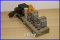 Vintage Ravenswood EL84 P/P STEREO tube Power AMPLIFIER