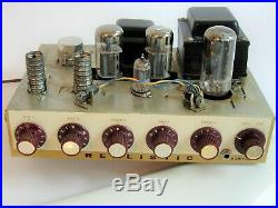 Vintage Realistic Tube PA Amp/AmplifierP-P 6L6 Output tubes, inc Sams Schematic