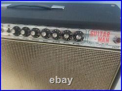 Vintage Royal Guitar Man (Fender Clone) Tube Guitar Amplifier Combo Amp RG-106B