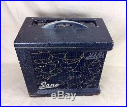 Vintage Sano Hi-Fi 18 Watt High Quality Amplifier Tube Guitar Amp Circa 1950's
