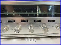 Vintage Sansui 1000a Stereophonic Tube Tuner Amplifier Parts/repair
