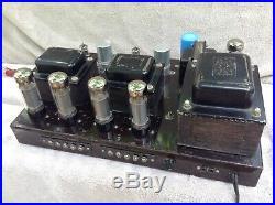 Vintage Sansui Sm-235 Tube Amplifier