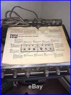 Vintage Scott Stereomaster 299-D Tube Amplifier