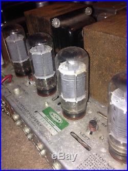 Vintage Scott Stereomaster 380 Tube Amplifier Reciever