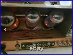 Vintage Sherwood S1000-II Tube Amplifier. Working well. All tubes intact