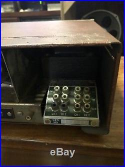 Vintage Sherwood S5000 II 80 Watt Stereo Tube Amplifier working