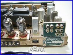 Vintage Sherwood S-8000 IV Tube Receiver / 7868 Tubes KT