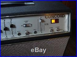 Vintage Sound City Concord Tube Amp / Amplifier Dallas Arbiter