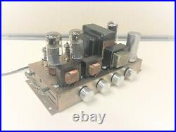 Vintage Stereo Lowery tube amp EL34 working just plug &play