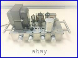 Vintage Stereo tube amp 6BQ5/EL84 working just plug &play