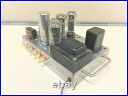 Vintage Stereo tube amp EL34 working just plug &play