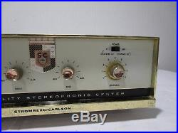 Vintage Stromberg Carlson ASR-220A Integrated Stereo Tube Amplifier - Cool