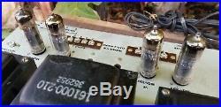 Vintage Stromberg Carlson ASR-333 Integrated tube amplifier Amp & SR-445 Tuner