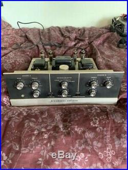 Vintage Stromberg Carlson ASR-533 Series 104 Hi-Fi Tube Stereo Amplifier Amp433
