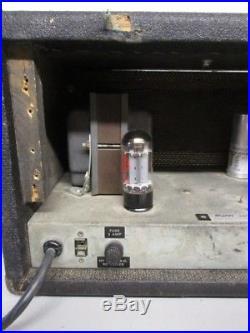 Vintage Sunn 100s Tube Guitar/bass Amp (mb1015992)