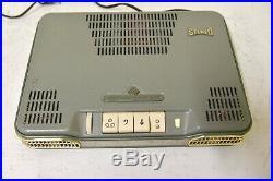 Vintage Telefunken S81 stereo tube amplifier